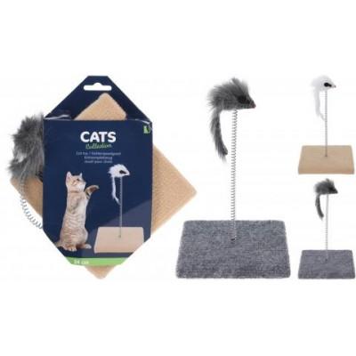 Котешка драскалка с мишка
